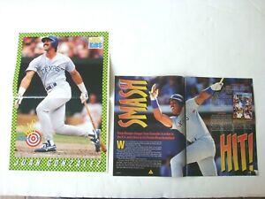 1994 Juan Gonzalez Texas Rangers Baseball Poster & Article SI Kids