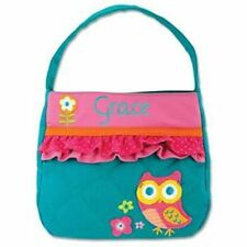 Personalized  Stephen Joseph Quilted Purse Owl
