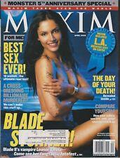 MAXIM Magazine #52 APRIL 2002-A - Leonor Varela Laura Harring Chandra West