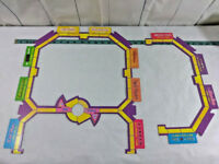 Mall Madness Game Playing Board Outline Replacement Parts 2004