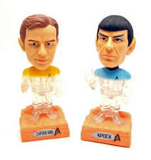 FUNKO POP SPOCK & CAPTAIN KIRK STAR TREK BOBBLEHEAD WACKY WOBBLERS TRANSPORTING