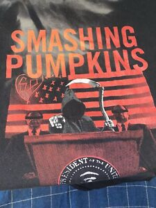 Smashing Pumpkins Grim Reaper T-Shirt - 2XL 2007 President Poor Condition BxA