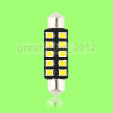 1X 42mm 10 SMD 2835 LED Soffitte Lampe Innenraum Beleuchtung warmweiss DC 12V