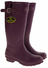 Women's Block Heel Wellington Boots