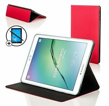 Rojo concha de almeja Smart Funda Protectora Samsung Galaxy Tab S2 9.7 Pantalla Prot Stylus