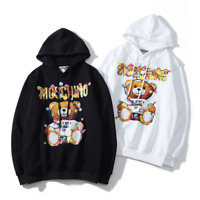 Women's Men's Moschino teddy bear Hoodie Sweater Hoodies Sweatshirts Long Sleeve