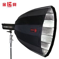 Jinbei 120cm Deep Parabolic Softbox Black/Silver For Jinbei Bowens Studio Flash