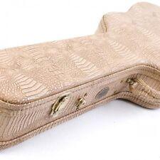 Turner Deluxe Guitarra Jumbo Funda-Crocodile Skin Grano