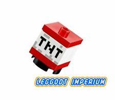 LEGO Minifigure - Minecraft TNT crate - FREE POST