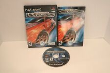 Need for Speed: Underground PS2 Black Label Play Station 2 Tested & WORK CIB