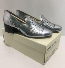 Anne Klein Women's Akjudeena Silver Shoes BRAND NEW size 9 M