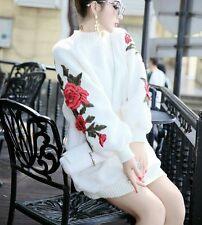 Sweater dress long sleeves mini