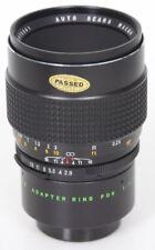 Sears Macro 55mm f2.8 lens, 1:1 extension tube, M42 Pentax Screw Mount