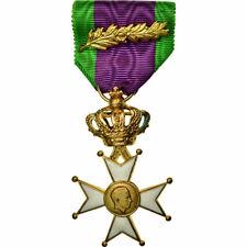 [#710347] Belgique, Vétérans de Léopold III, Médaille, Non circulé, Gilt