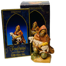 "Fontanini Heirloom Jeremiah 5"" Collection Story Card & Original Box"