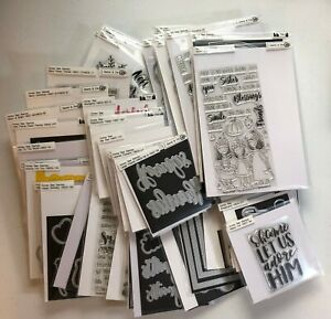 Honey Bee Stamps and Dies - YOU PICK - 54 Sets - Pristine Condition