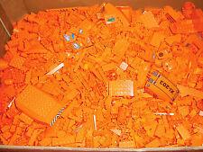 Lego 1 kg orange Steine, Platten, Sonderteile Paket Sammlung