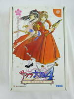 Sakura Wars 4 Fall in Love Maidens Limited Dreamcast SEGA PS Game Used Japan
