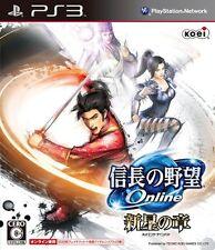 (Used) PS3 Nobunaga no Yabou Online: Shinsei no Shou [Import Japan]()