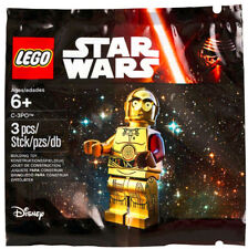 STAR WARS C-3PO Promo/Promotional Minifigure/Figure by LEGO 5002948 Red Arm