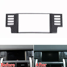 Carbon Fiber Styl Navigation Panel Cover Trim For Land Rover Discovery Sport 15+