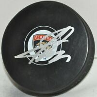 Sergei Bobrovsky Russia Florida Panthers Signed Autographed NHL Hockey Puck COA