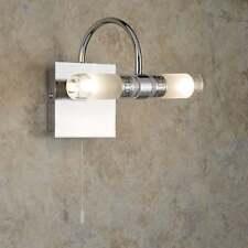 Searchlight LIMA BAGNO LED LUCE PARETE CON PIATTO IN VETRO A SPECCHIO 2555CC-LED