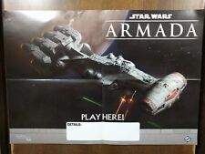 Star Wars: Armada Summer 2016 CR90 Corellian Corvette Poster+Folder+Rules Promo