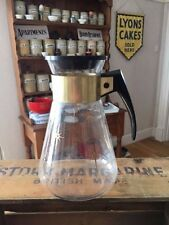Vintage Pyrex Glass Coffee Jug / Warmer – Retro! –