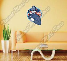 "British London Bobby Police UK England Wall Sticker Room Interior Decor 20""X25"""