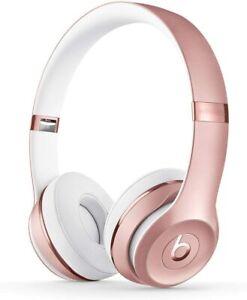 Beats Solo3 Wireless On-Ear Headphones - Apple W1 Headphone Chip, Class 1 Rose G