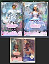 """Odette Swan Lake Barbie Doll Prince Daniel Ken Kelly African American AA Lot 4"""""""