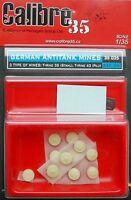 CALIBRE35 CALIBRE 35 35035 - GERMAN ANTITANK MINES - 1/35 RESIN KIT