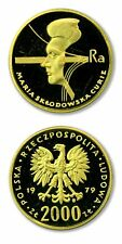 Poland Maria Sklodowska Curie 2,000 Zlotych 1979 Proof Gold Coin