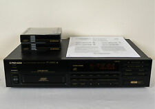 PIONEER PD-M450 CD Player, 6 Disc,  With 2 Magazines & Manual, Reconditioned.