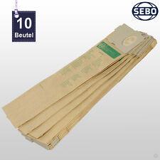 10 Stück SEBO BS 360 460 / HS 1 2 Filtertüten Staubsaugerbeutel Beutel 1055