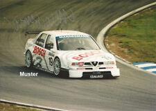 RARE!!! AUTOGRAMM Foto 13x18 cm DTM/ITC 1996 Jason Watt - Alfa Romeo 155 V6 Ti