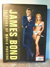 JAMES BOND 50 YEARS OF MOVIE POSTERS BOOK