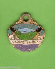 #D231. EVERGLADES  GOLF  CLUB ASSOC.  MEMBER BADGE 1972-73 #784
