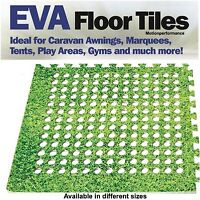 Green Grass Padded Eva Foam Floor Mat Tiles for Awnings, Tents, Gyms & Marquees
