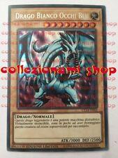 CT14-IT002 DRAGO BIANCO OCCHI BLU Blue-Eyes White Dragon RARA SEGRETA ® ITALIANO