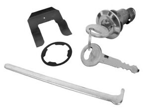 1967 - 1973 Ford Mustang Trunk Lock Cylinder Kit with Keys CL-1552 New
