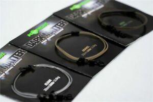 Korda Safe Zone Kamo Dark Matter 30cm Leader Ring Swivel 30lb Test - All Colours