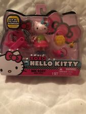 Hello Kitty Collectible Figurine Bee Rosy Mini Doll Backpack Clip
