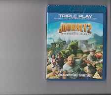 JOURNEY 2 THE MYSTERIOUS ISLAND BLURAY / DVD SEALED THE ROCK