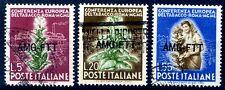 TRIESTE A - 1950   TABACCO  SERIE  USATA