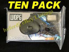 10-Pack Kodak Flash Disposable Camera 35mm Film Single Use Insurance