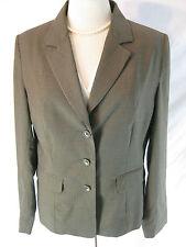 Gorgeous Sz 14 Basque Designer Corporate Pin Stripe Jacket