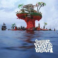 Plastic Beach - 2 DISC SET - Gorillaz (2010, Vinyl NEUF)