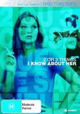 2 or 3 Things I Know About Her (DVD, 2006)-REGION 4-Brand new-Free postage